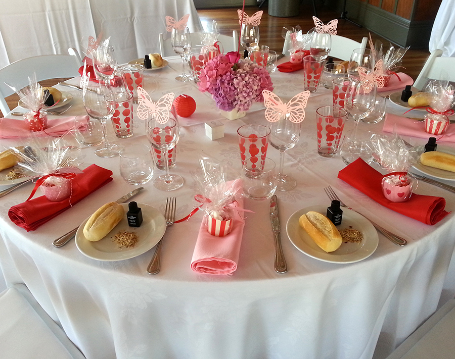 The boatshed the boatshed venuethe boatshed venue - Table setting for a party ...