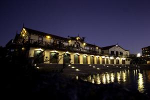 Boatshed by Night